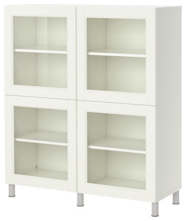 Creative Corsica Storage Cabinet With Glass Doors OfficeFurniturecom.