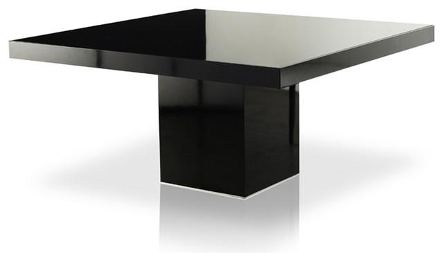 modloft beech square dining table modern dining tables. Black Bedroom Furniture Sets. Home Design Ideas