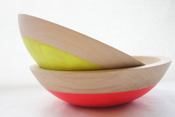 Modern Serving Bowls by Etsy