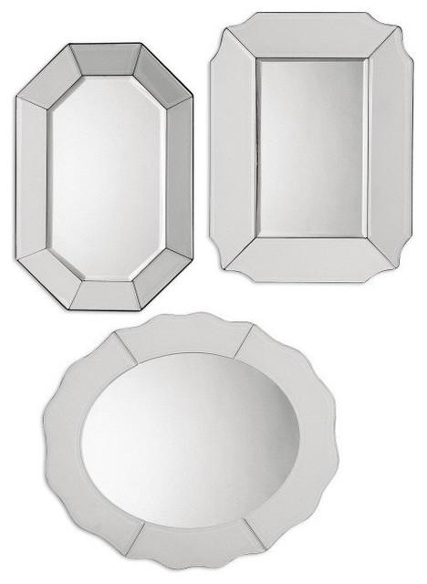 Billy Moon Bianco Mirror X-11180 contemporary-wall-mirrors