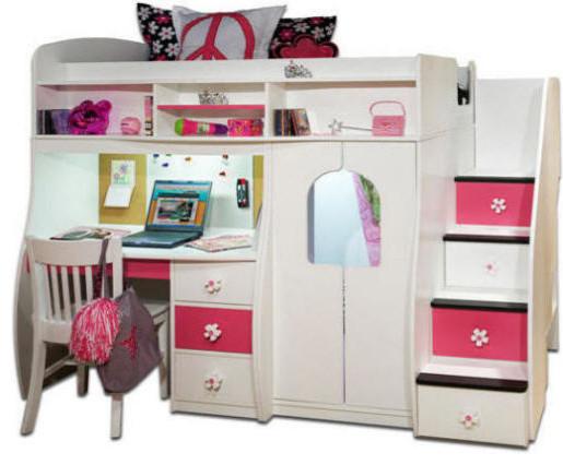 elena 39 s twin size secret stairway loft contemporary children 39 s beds minneapolis by. Black Bedroom Furniture Sets. Home Design Ideas