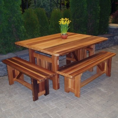 Wood Country Cabbage Hill 5 Foot Table modern-patio-furniture-and-outdoor-furniture