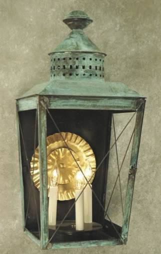 Handcrafted Charleston Harbor Wall Lantern traditional-outdoor-wall-lights-and-sconces