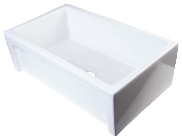 30 White Farmhouse Sink : 30