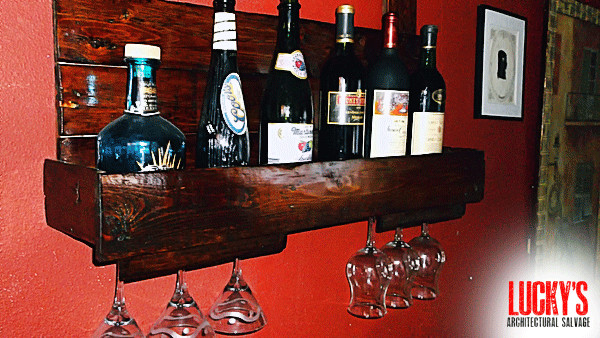 Wine Rack Reclaimed Wood Traditional Furniture Los