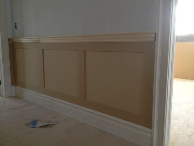 Shaker wainscoting Raised Panel - Traditional - other metro - by EURO CARPENTRY LLC