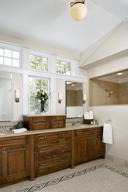 AbbeyK, Inc. traditional-bathroom