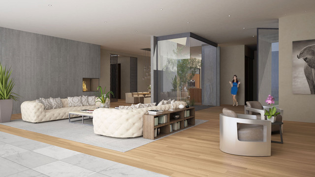 Doheny Estates contemporary-rendering