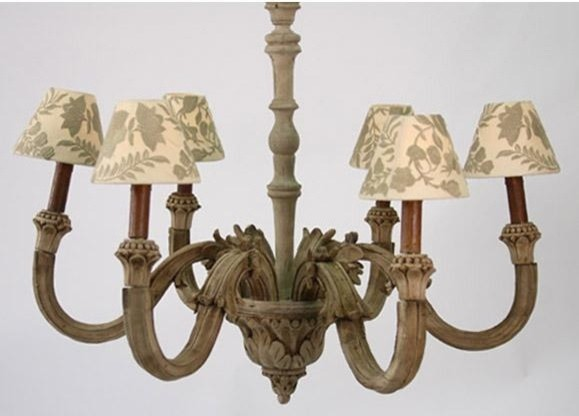 Zentique Provence Chandelier traditional-chandeliers