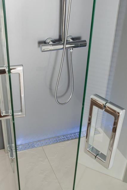 ACO Linear Shower Drains modern-showerheads-and-body-sprays