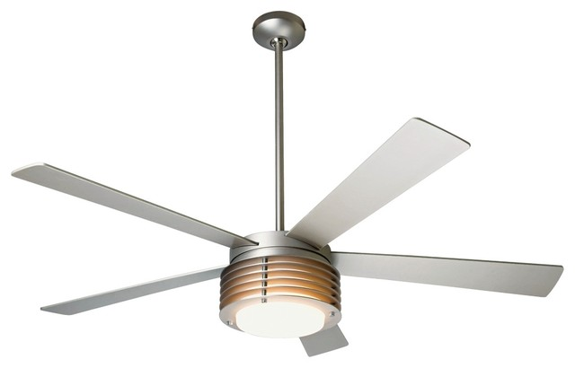 52 modern fan company pharos ceiling fan contemporary for White contemporary ceiling fans with lights