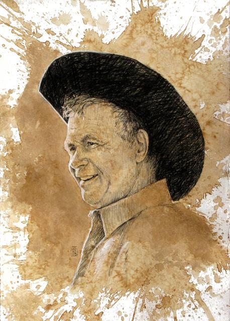 Skip and Margie Braband Western Portraits traditional-artwork