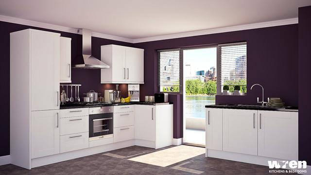 Wren Kitchens contemporary-kitchen
