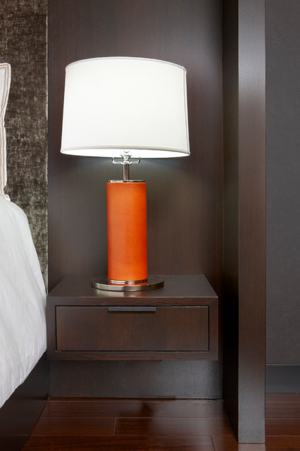Floating Oak Nightstand Modern Nightstands And Bedside
