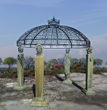 The Four Seasons Gazebo traditional-gazebos