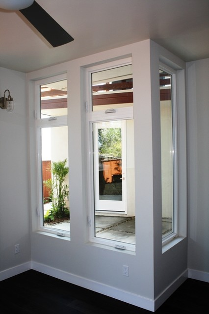 Milgard tuscany series vinyl casement windows Casement window reviews
