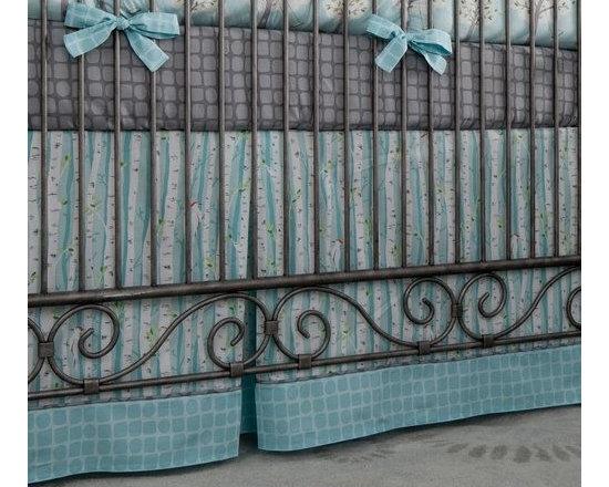 Windy Day Crib Skirt -