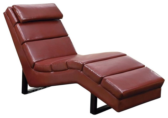 28 red leather chaise modern red leather designer chaise lo