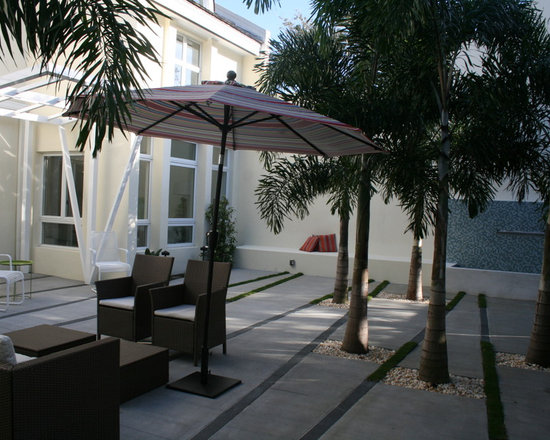 Outdoor Courtyard - Indian River Project Management does outdoor remodeling as well.