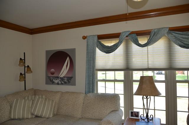 Diane D's Living Room Update eclectic
