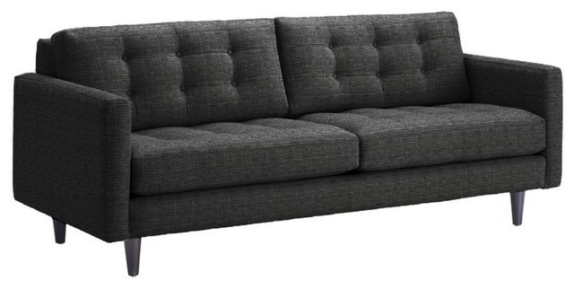 modern apartment sized furniture | Beverly Apartment. Size Sofa, Charcoal, 78x38 - Modern - Sofas