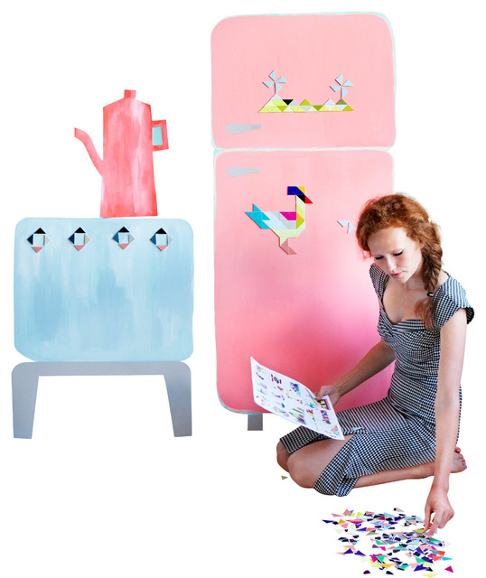 Tatlin Cardboard Magnets contemporary-kids-toys-and-games