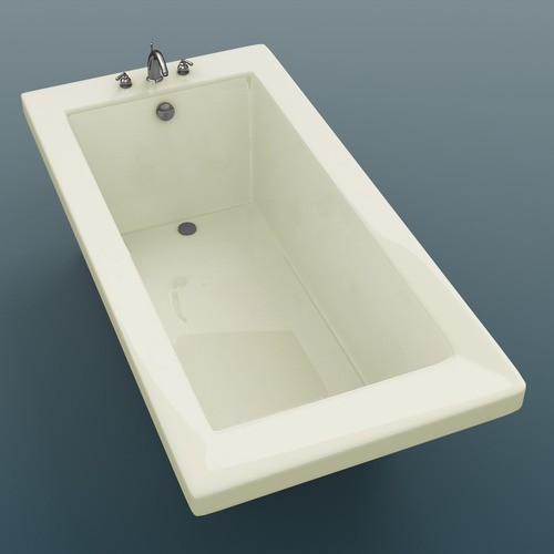 72 x 23 rectangular soaking bathtub modern bathtubs by wayfair