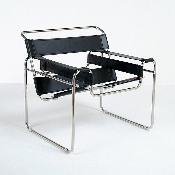 breuer wassily chair reproduction modern chairs by. Black Bedroom Furniture Sets. Home Design Ideas