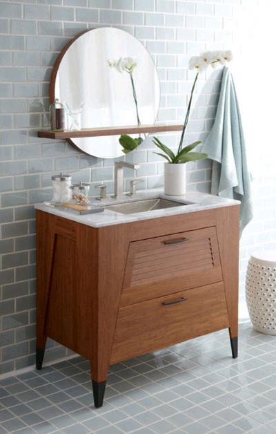 Native trails trinidad 46 bathroom vanity contemporary for Bathroom vanities los angeles