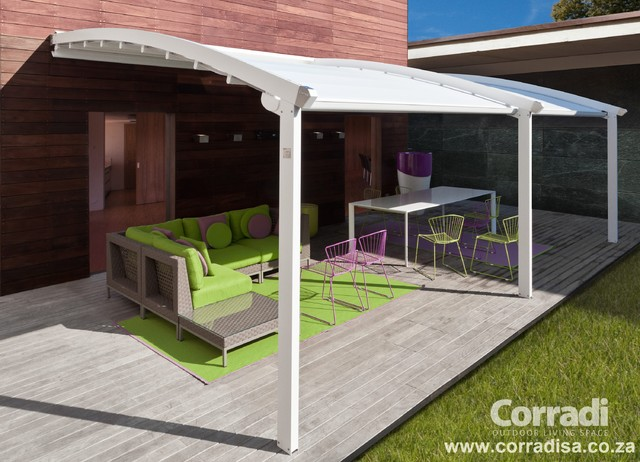 ... Pergotenda Patio Awnings With Retractable Roofs By Corradi Contemporary  Outdoor Products ...