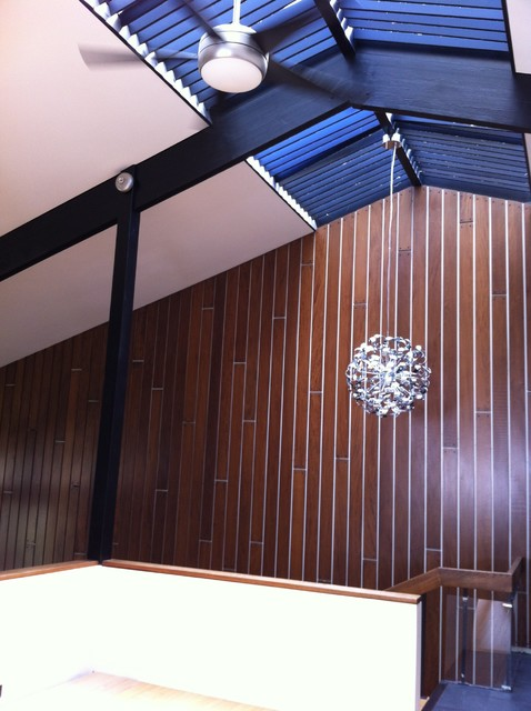 Living room, skylight