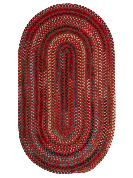 Copperidge rug in Red - Unique texture and ingenious color combine making Copperidge an instant favorite.  Wool chenille yarns chunk up the look while resilient polypropylene delivers serious durability.