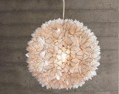 VivaTerra - Lotus Flower Chandelier eclectic-chandeliers