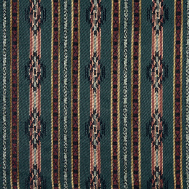 F380 Southwestern Theme Fabric Traditional Upholstery