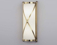 Chase 16 Wall Sconce by Robert Abbey | Lightology eclectic-wall-sconces