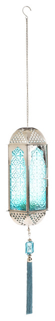 Jewel Garden Lantern  mediterranean outdoor lighting