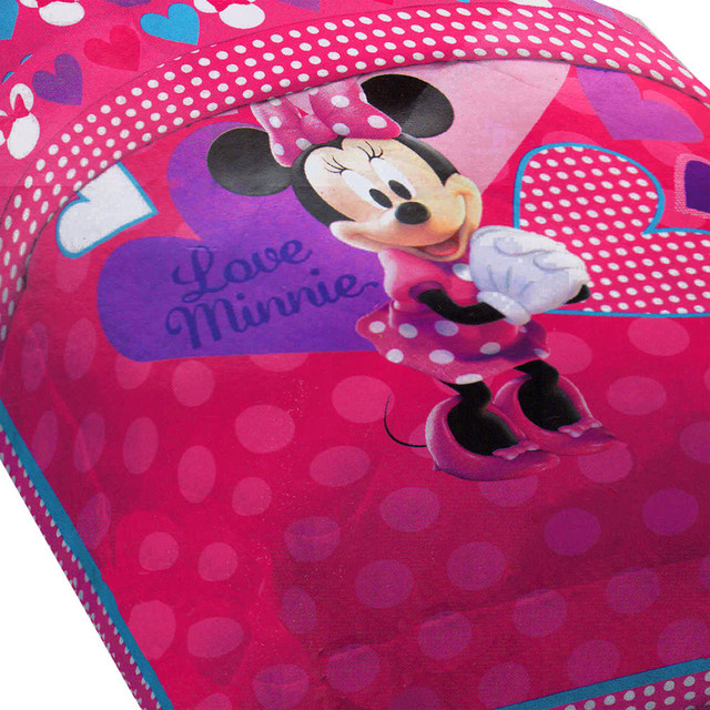 disney minnie mouse hearts bow tique twin bed comforter