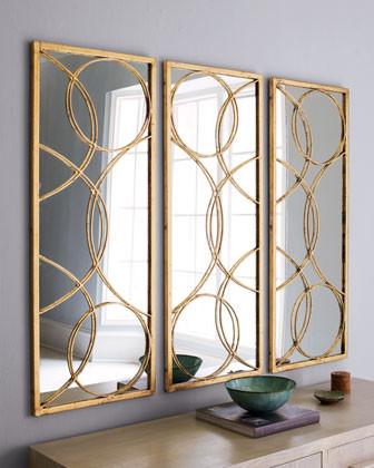 Arteriors Nikita Mirror, Each traditional-mirrors