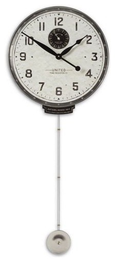 Uttermost United time cream 18 contemporary clocks