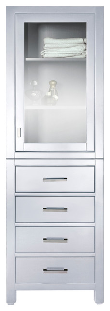 Modero 24 in. Linen Tower contemporary-bathroom-cabinets-and-shelves