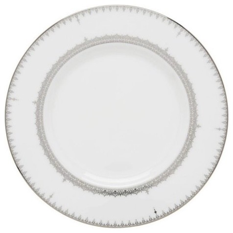 Lenox Lace Couture Accent Plate - 9 in. modern-plates