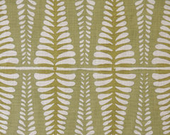 Fern Fabric, Sage contemporary-fabric