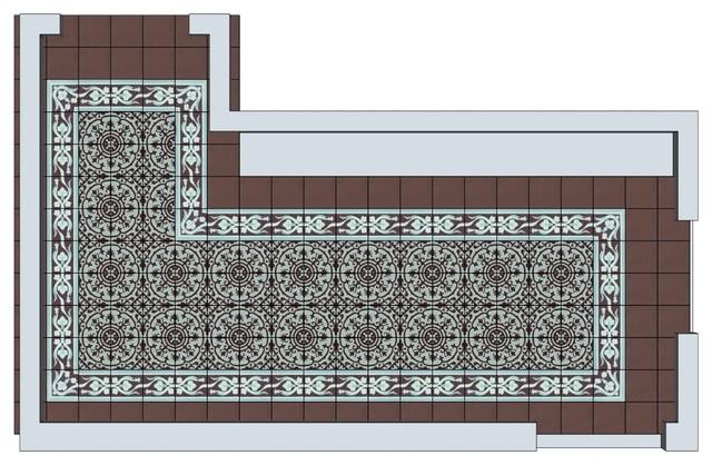 Miskella home Mudroom contemporary-rendering