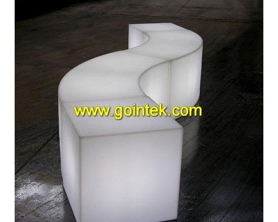 Illuminated Led Stools,remote control chair -