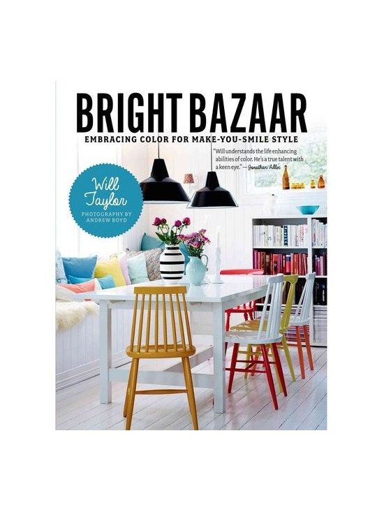 Bright Bazaar: Embracing Color for Make-You-Smile Style by Will Taylor -