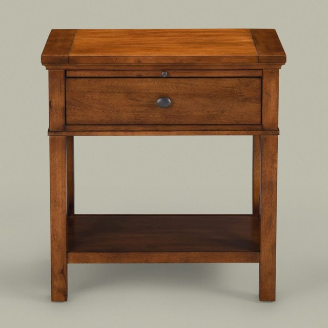 Tango night alec table traditional nightstands and bedside tables