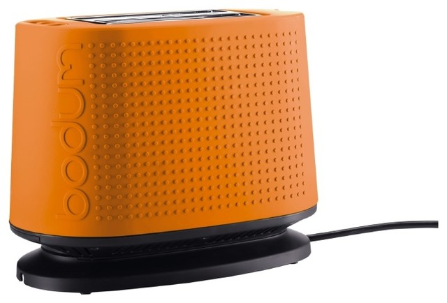 bistro toaster orange contemporary toasters by bodum. Black Bedroom Furniture Sets. Home Design Ideas