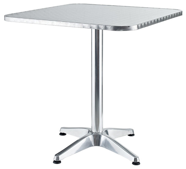 Aluminum Indoor Outdoor Table Modern Dining Tables By LexMod