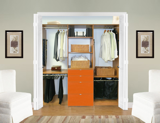 Custom Closet modern closet organizers