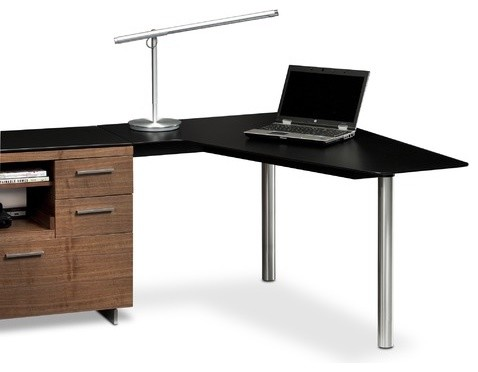 "Sequel 29.25"" H x 55"" W Desk Peninsula modern-home-office-products"